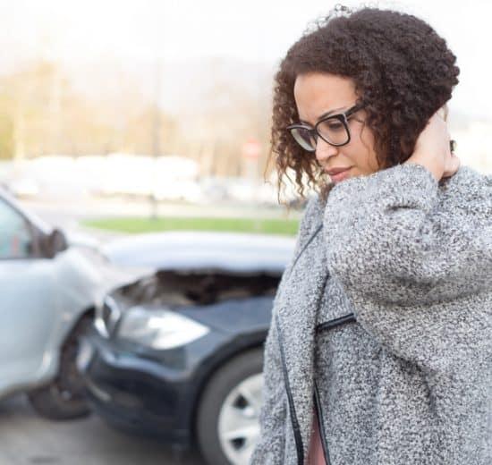 wypadek samochodowy obrażenia