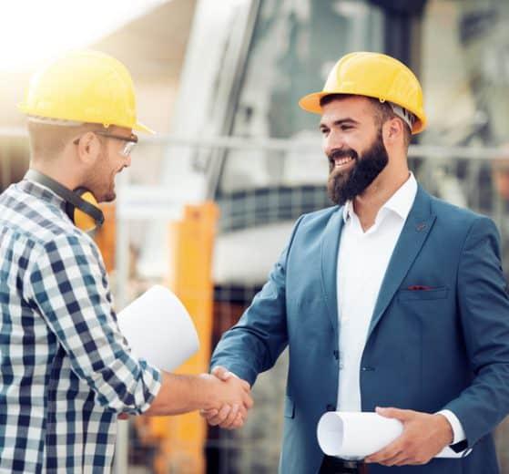 budowa dwóch pracowników