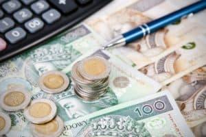 złote PLN polskie pieniądze