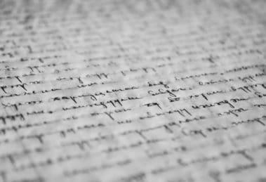 tekst pisany